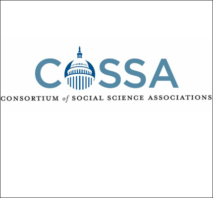 COSSA logo: Consortium of Social Science Associations.
