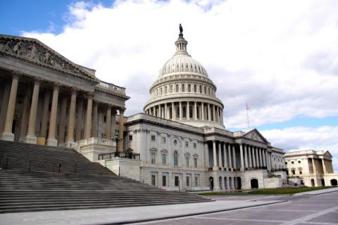 Photo of the United States Capitol Building.