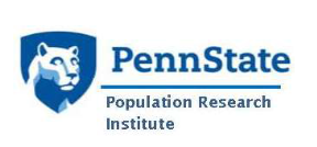 Penn State Population Research Institute.