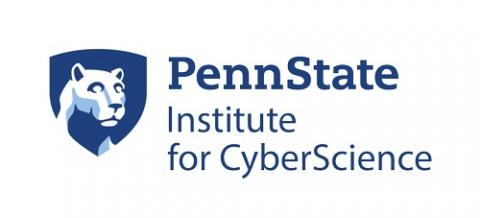 Logo for Penn State Institute for CyberScience.